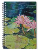 Water Lily In The Morning Spiral Notebook