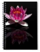 Water Lily Reflection Spiral Notebook