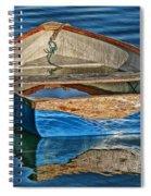 Water-logged Spiral Notebook