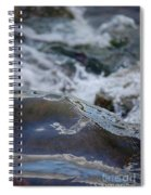 Water Mountain 1 By Jrr Spiral Notebook