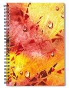 Water On Color Design Nine Spiral Notebook