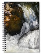 Water On The Rocks 2 Spiral Notebook