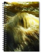 Water  Over Rock Spiral Notebook