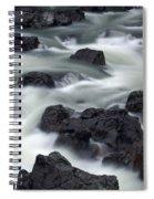 Water Over Rocks Spiral Notebook