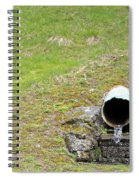 Water Pipe Spiral Notebook