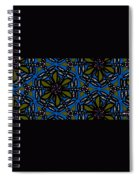 Water Plant And Dragonfly Spiral Notebook