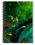 Water Plants Spiral Notebook