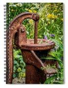Water Pump Spiral Notebook