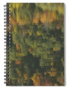 Water Reflections Abstract Autumn 2 A Spiral Notebook