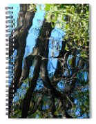 Water Reflections 3 Spiral Notebook