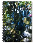 Water Reflections 9 Spiral Notebook