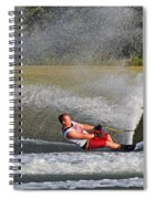 Water Skiing 10 Spiral Notebook
