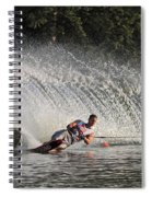 Water Skiing 12 Spiral Notebook