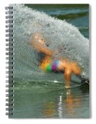 Water Skiing 5 Magic Of Water Spiral Notebook