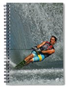 Water Skiing Magic Of Water 14 Spiral Notebook