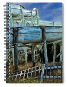 Water Slide At Dowdy's Amusement Park Spiral Notebook