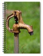 Water Spicket Or Spigot Spiral Notebook