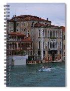 Water Taxi In Venice Spiral Notebook