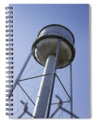 Water Tower Deer Lodge Montana Spiral Notebook