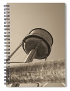 Water Tower In Deer Lodge Montana Spiral Notebook