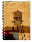 Water Tower Spiral Notebook