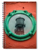 Water Tower Reflection Spiral Notebook