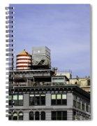 Water Tower View Spiral Notebook