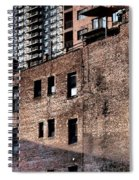 Water Tower With Cityscape Spiral Notebook