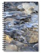 Water Under Ice Spiral Notebook