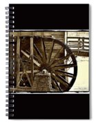Water Wheel At The Grist Mill Spiral Notebook
