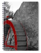 Water Wheel.  Spiral Notebook