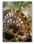 Water Wheel Spiral Notebook