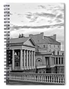 Water Works In Black And White Spiral Notebook