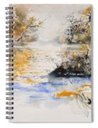 Watercolor 45417042 Spiral Notebook