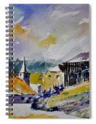 Watercolor Baillamont Spiral Notebook
