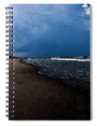 watercolor Beach Spiral Notebook