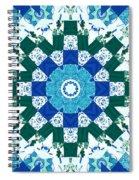 Watercolor Quilt Spiral Notebook