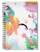 Watercolor Seagulls Spiral Notebook