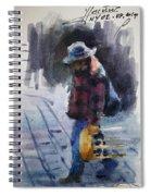 Watercolor Sketch Spiral Notebook