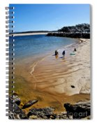 Watercolors At The Beach Spiral Notebook