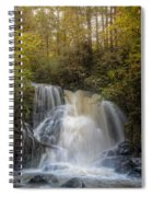Waterfall After The Rain Spiral Notebook