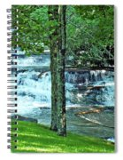 Waterfall And Hammock In Summer 2 Spiral Notebook