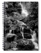 Waterfall At Rainbow Springs Spiral Notebook
