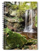 Waterfall At Roughting Linn Spiral Notebook