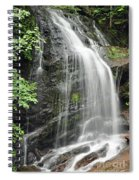 Waterfall Bay Of Fundy Spiral Notebook