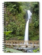 Waterfall Bridge Spiral Notebook