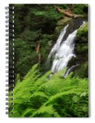 Waterfall Fern Square Spiral Notebook