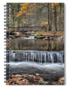 Waterfall - George Childs State Park Spiral Notebook