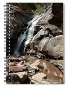 Waterfall In Colorado Spiral Notebook