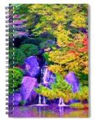 Waterfall In Fall Spiral Notebook